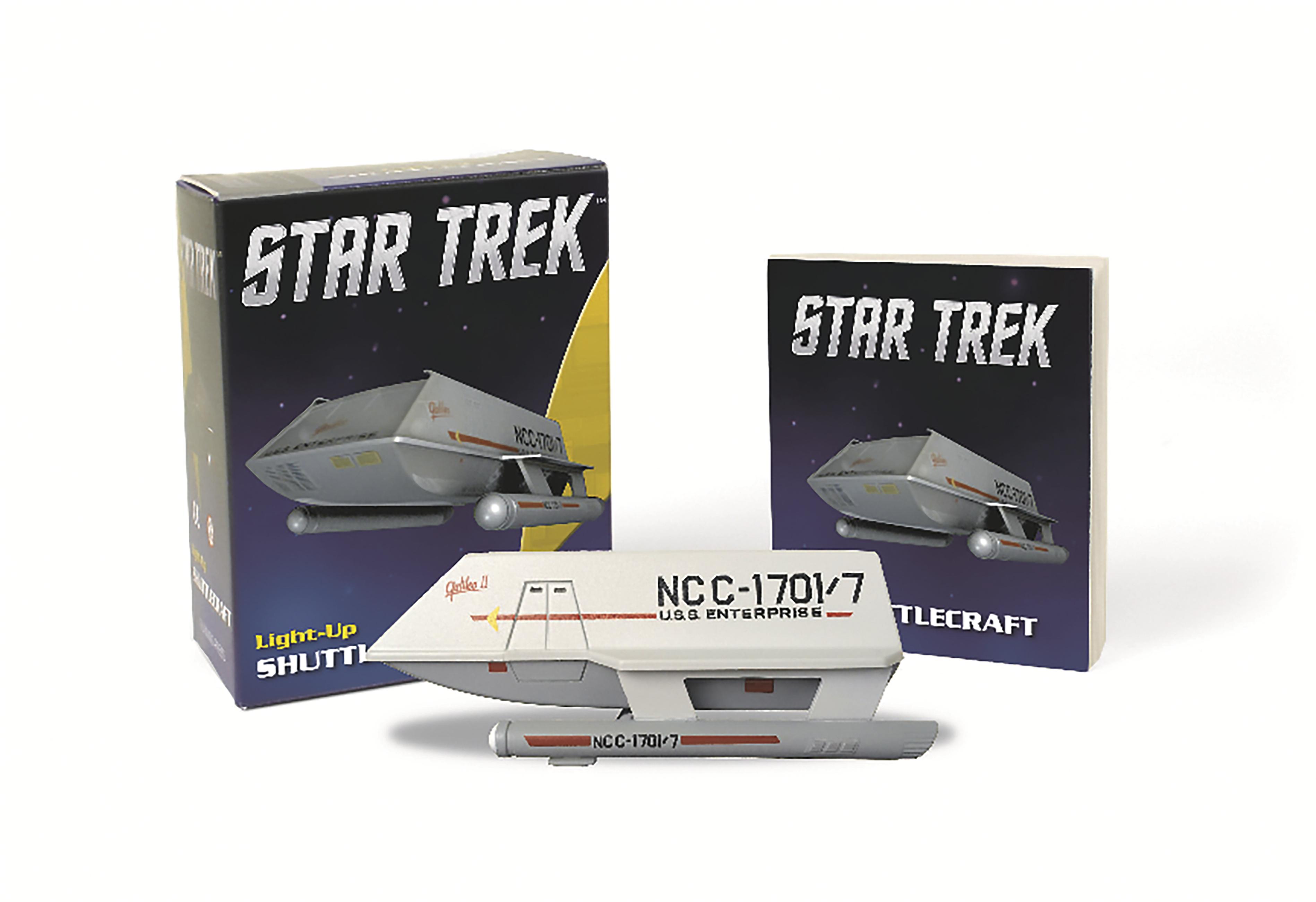 Star Trek: Light-Up Shuttlecraft by Chip Carter | Running