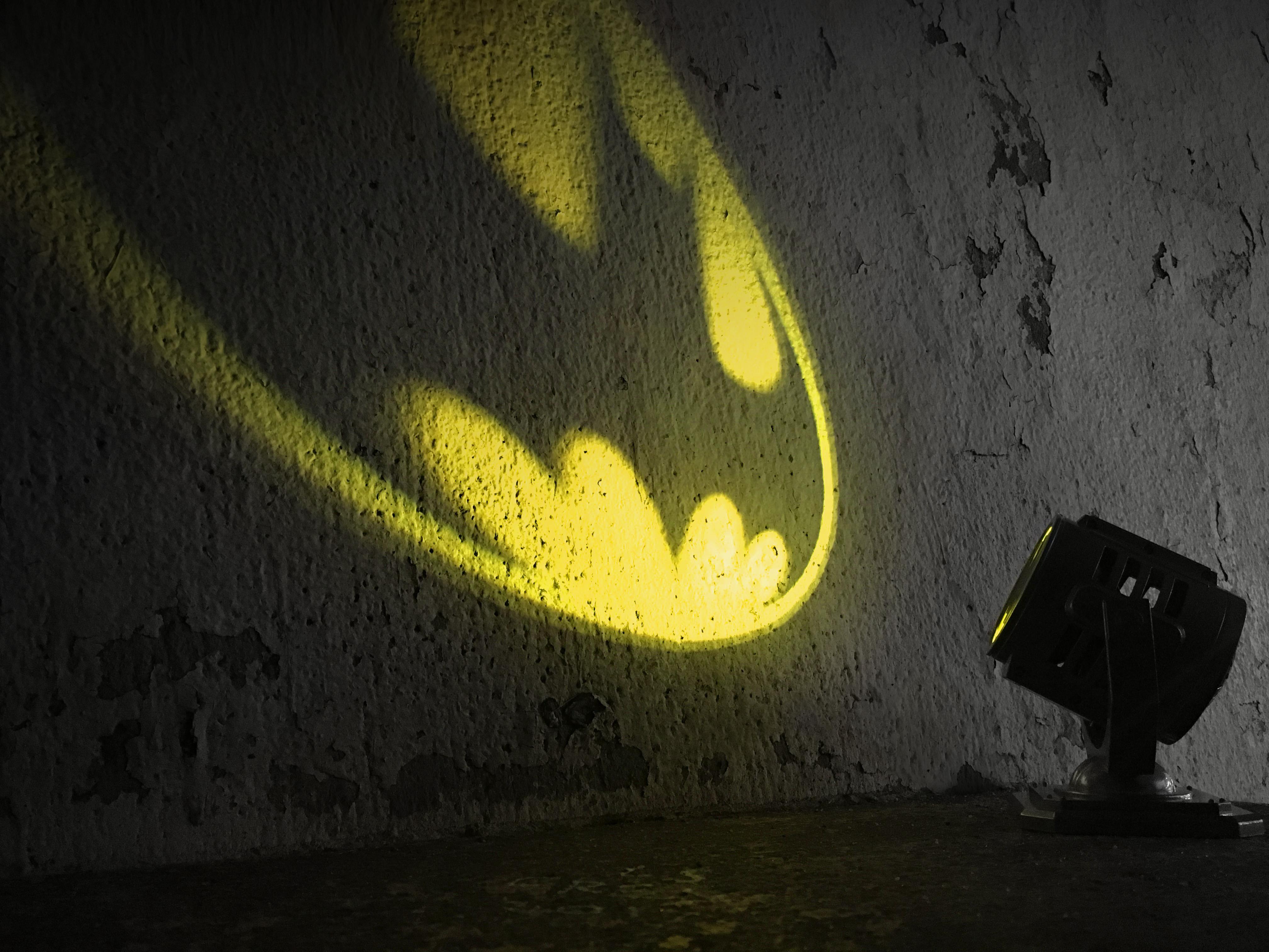 Batman: Metal Die-Cast Bat-Signal by | Running Press